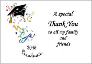 Graduation Thank You Quotes