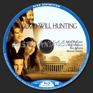 Good Will Hunting blu-ray label - DVD Covers & Labels by Customaniacs