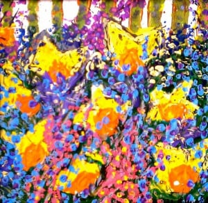 Daffodils painting- art by www.Facebook.com/Nancy.Beardsley.Art