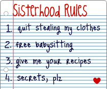 The Sister Project is starting to write down its rules for sisterhood ...