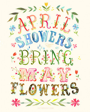 And I've seen a lot of great April Showers themed projects on the ...