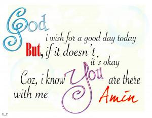 Good Morning Prayer Quotes...