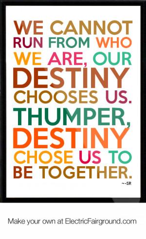 Thumper Quotes