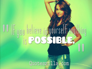 Miley Cyrus Quotes 8 Widescreen Wallpaper