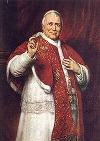 Pope Pius IX - Wikipedia, the free encyclopedia