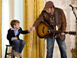 Rodney Atkins and his little boy :]