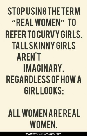 Real women have curves quotes