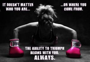 kickboxing girls motivation - Google Search