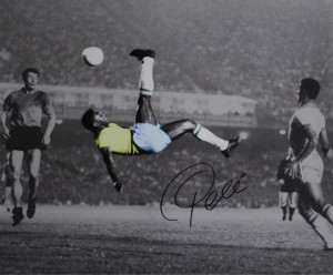 Soccer Inspirational Quotes~Pele~All time great Soccer Player ...