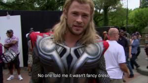 can everyone appreciate how funny Hemsworth is plz