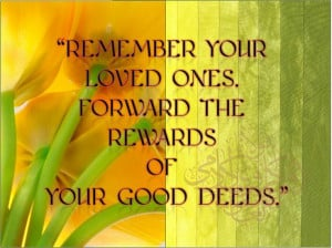 Remember your loved ones