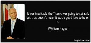 More William Hague Quotes