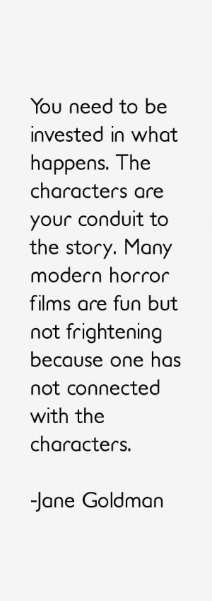 Jane Goldman Quotes