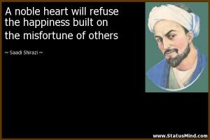 Saadi Shirazi Quotes