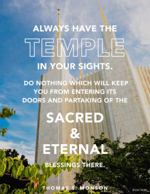 beautiful reminder why temple ordinances are important.