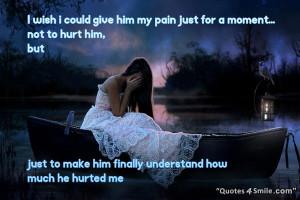 Broken Heart Girl Sad Love Quote