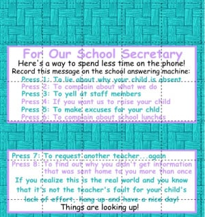 School Secretary Quotes Funny