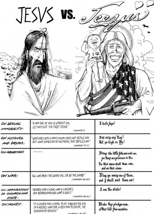 Real Jesus Versus Republican Jesus