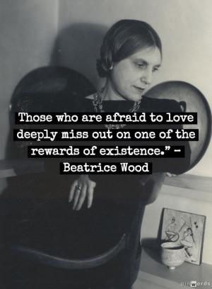 Beatrice Wood quote