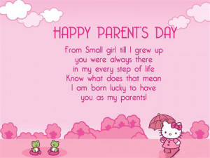 Beautiful Parent's Day Cards With Quotes - Free Quotes, Poems ...
