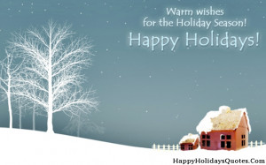 Happy Holiday Sayings Picture 2014
