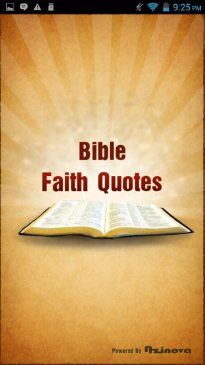 Bible Faith Quotes
