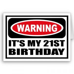 21st Birthday Speeches