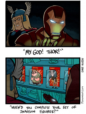 Funny Superhero Memes Happy thor's day!