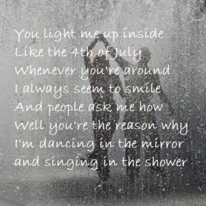 Shower by Becky G. I LOVE THIS SONG! It is exactly how I feel about a ...