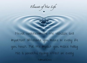 Elements of your life