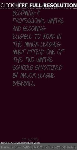 umpire Quotes 1