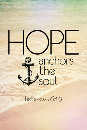 Most popular tags for this image include: hope, anchor, soul and god