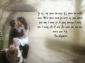 want to be with you forever quotes