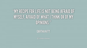 Quote About Not Being Afraid
