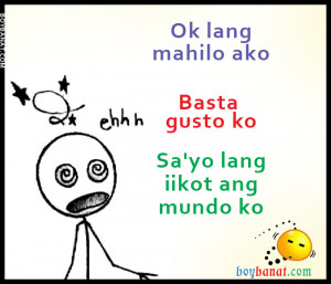 Pinoy Valentines Banat and Valentine Pick Up Lines