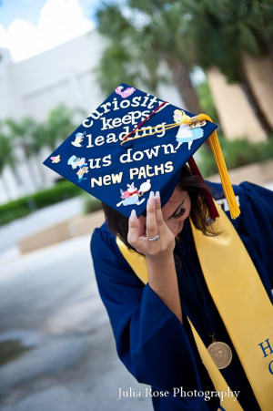 Disney Graduation Cap; Almost my time... Class of 2014