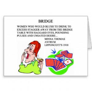 FAMOUS DUPLICATE BRIDGE QUOTE CARDS