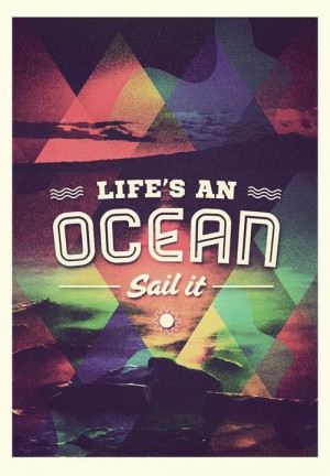 life #sailing #sail #ocean #quote #inspiration