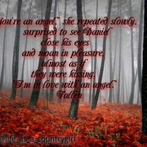 Fallen quote by Lauren Kate