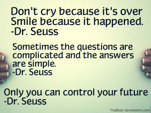 Dr. Seuss Quotes by TiiaBear