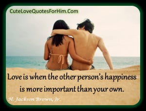 Cute Love Quotes For Him 4
