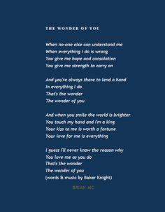 Wonder of You Lyrics, #Elvis Presley #quotes More