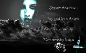 Displaying 12> Images For - Gothic Love Quotes...