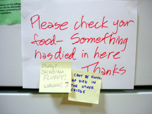 we'll have to share more of the hilarious employee-created signs out ...