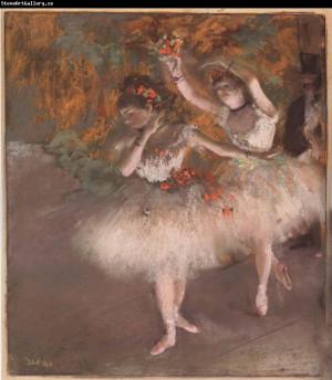 Edgar Degas Two Dancers