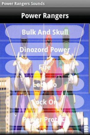 Power Rangers Sound Quotes Screenshot 2