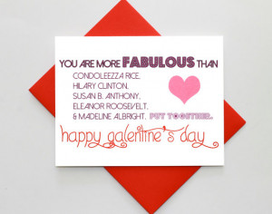 Funny Leslie Knope Galentine's Day Quote Card