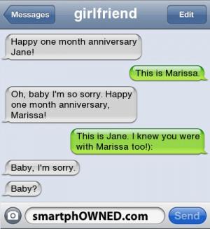 girlfriendHappy one month anniversary Jane!