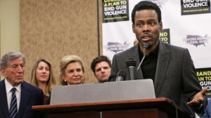 ... on like a boxer before he gets knocked out, comedian Chris Rock says