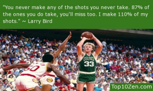 Larry Bird >> 20 Inspirational Basketball Quotes To Bring The Bounce ...